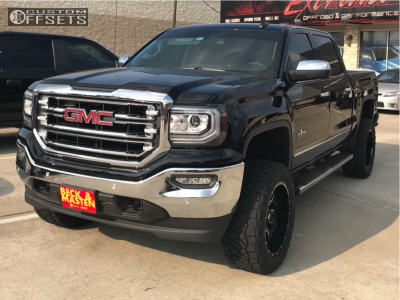 2018 Gmc Sierra 1500 Fuel Vandal Nitto Ridge Grappler Gmc Trucks