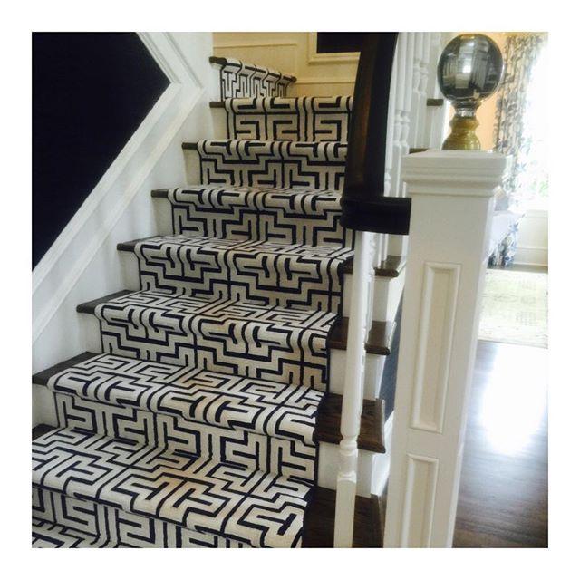 Love This Stair Railing And Carpet Runner By Stark Tobifairley