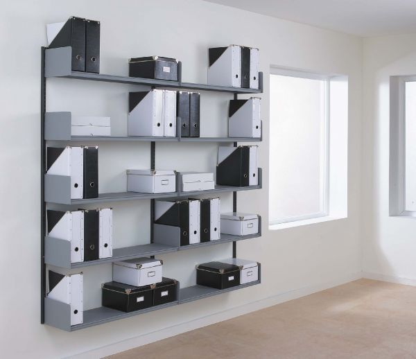 office storage shelves. shelving · wall mounted office storage shelves