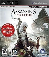 Assassin S Creed Iii Ps3 Game Assassins Creed Assassin Ps3 Games