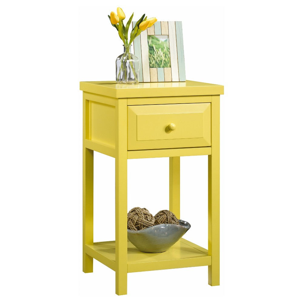 - Cottage Road Side Table - Yellow Pantone - Sauder Side Table