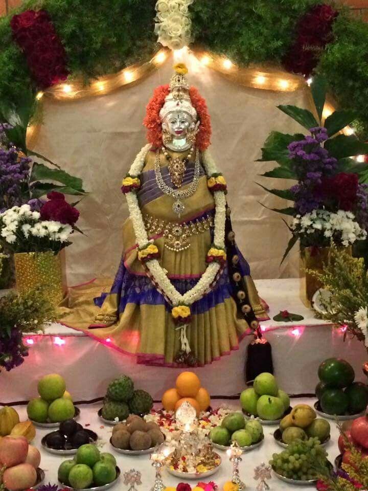 Lakshmi Lakshmi mahalakshmi pooja Pinterest