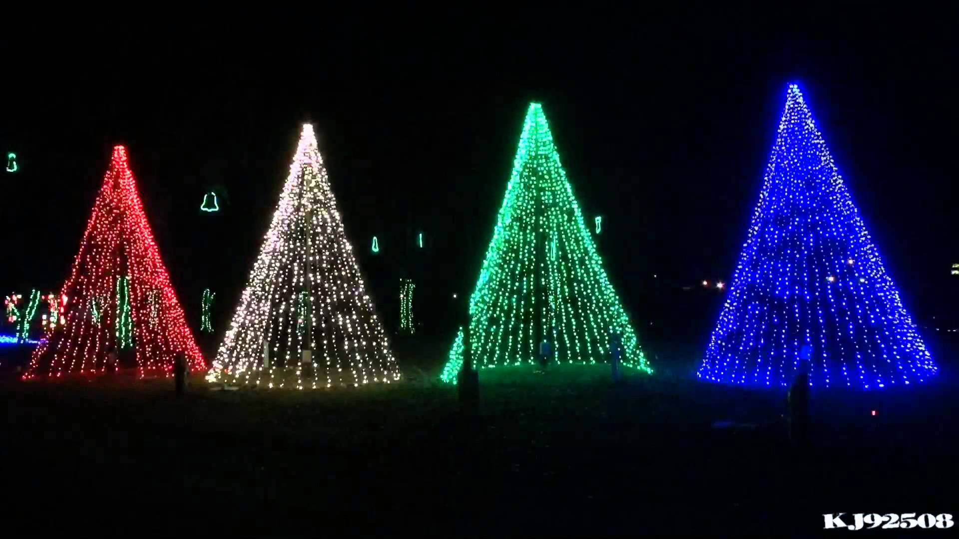 Christmas Light Show 2013 - Carol of the Bells (Nashville, TN ...