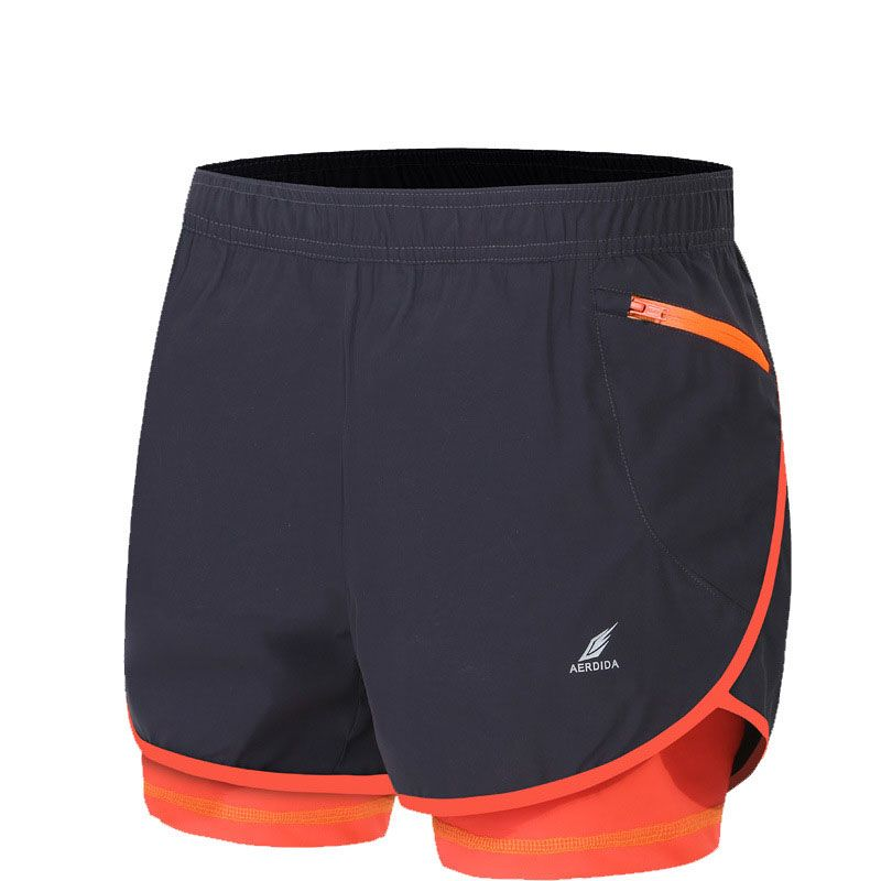 66ae0f7ac94 2 in 1 Men's Marathon Running Shorts Gym Shorts M-4XL Man Gym Short Pants  Short Sport Homme Pantalones Cortos Deportivos Hombre