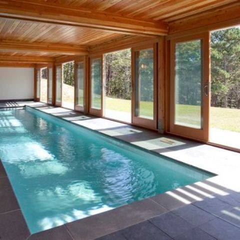 30 Indoor Swimming Pools That Will Make You Envy