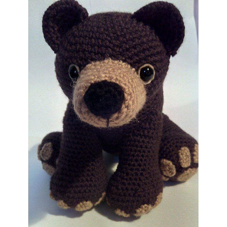 Crochet Grizzly Bear pattern Crochet pattern by Carrottopscharacters