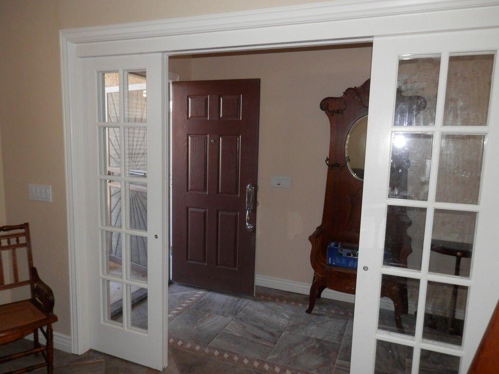 Custom Installation Of Interior Sliding French Door By Shapira