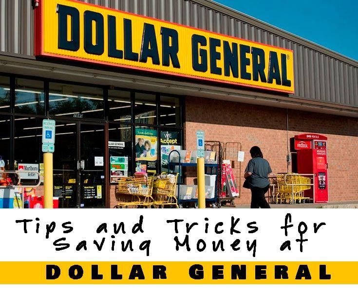 Tips And Tricks For Saving Money At Dollar General Dollar General Couponing Dollar General Penny Items Saving Money