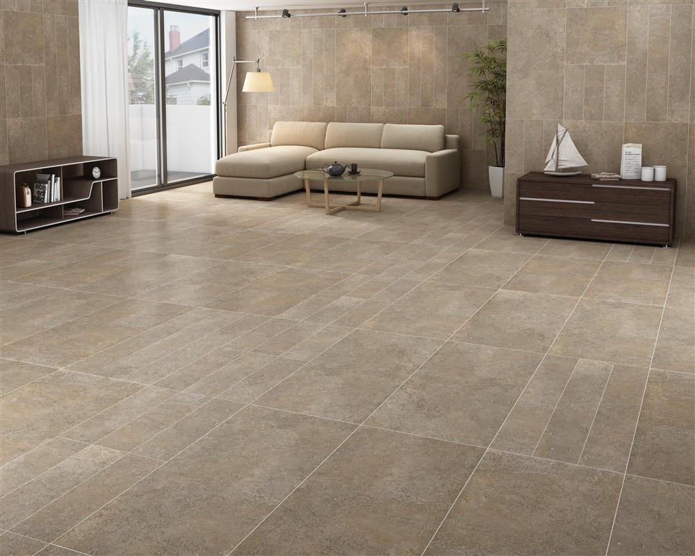 Room Corus Brun Floor Tile Size