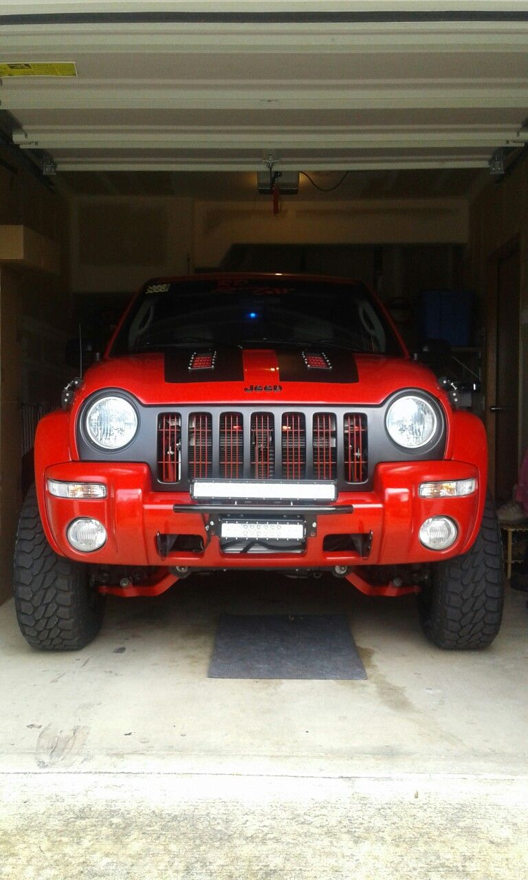 02 Jeep Liberty Baja Bilstein coil overs Lifted 6 inches