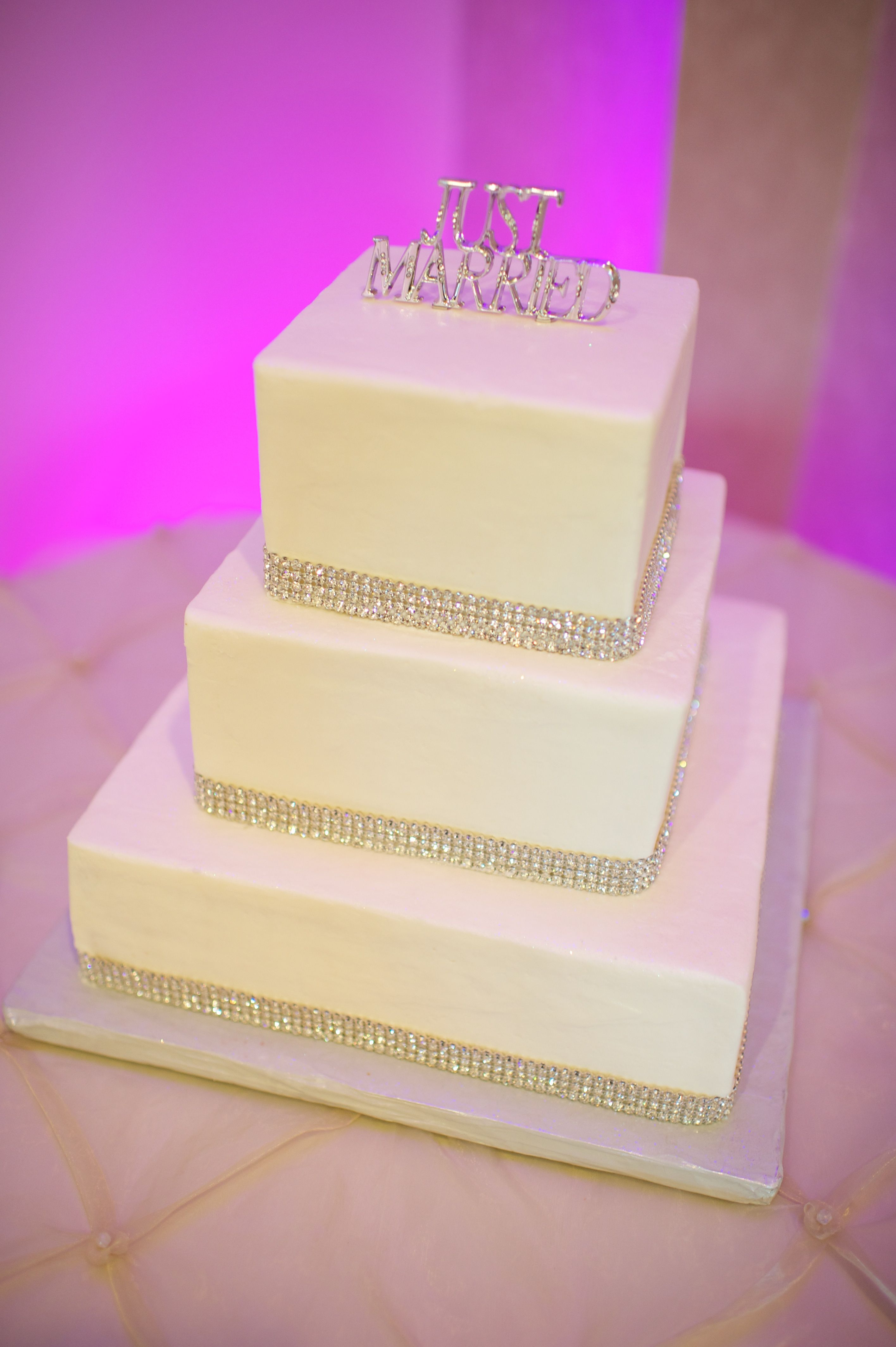 Jewel cake accents cake by incredible edibles of va