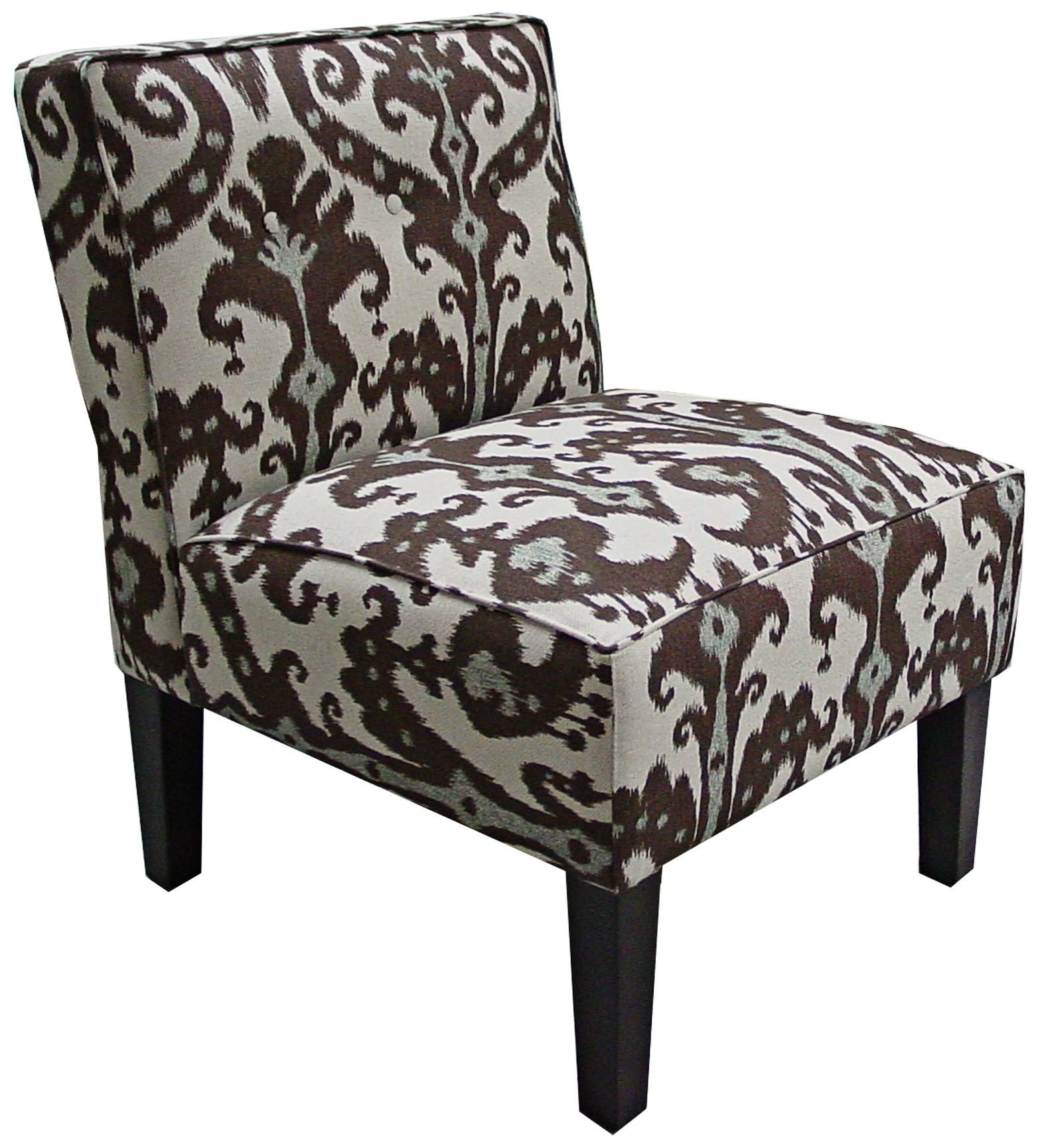 Best Marrakesh Cobblestone Brown And Blue Accent Chair Blue 400 x 300
