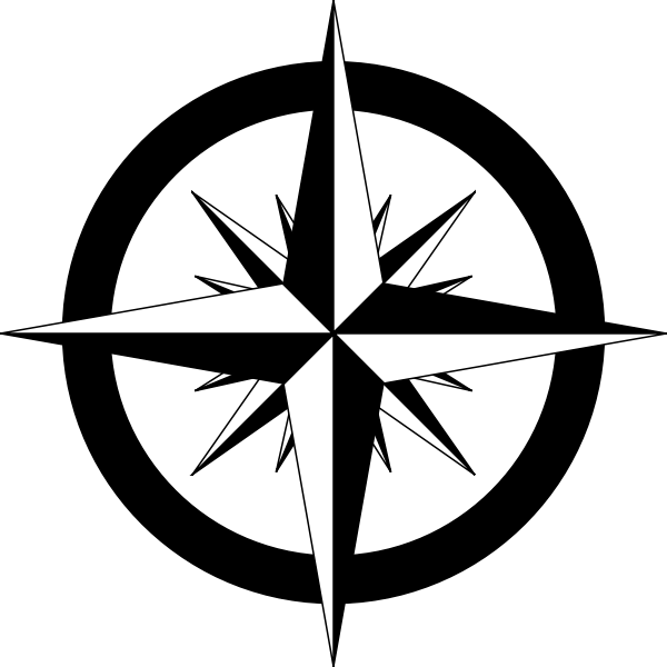 Compass Rose Vector Sketch Free Svg In 2020 Compass Rose Compass Vector Sketch