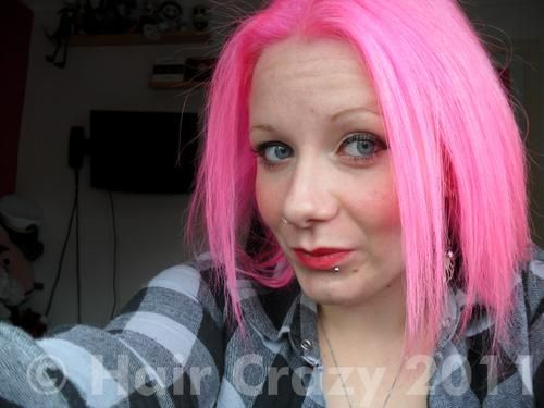 Buy Cupcake Pink Special Effects Hair Dye - HairCrazy.com   Makeup ...