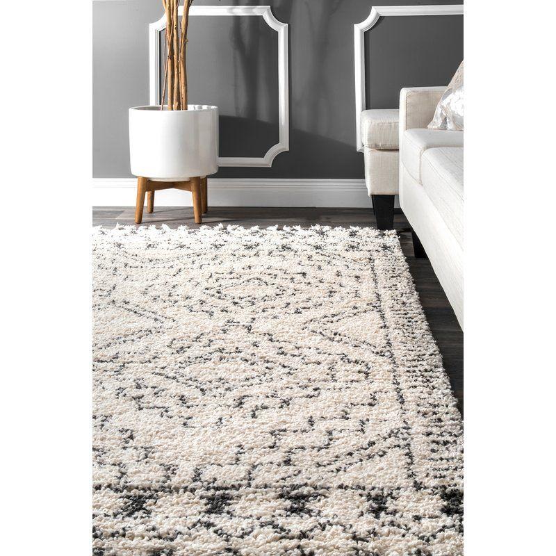 Lederer Off White Indoor Area Rug Reviews Joss Main Rugs In Living Room Moroccan Rugs Bedroom Bedroom Rug