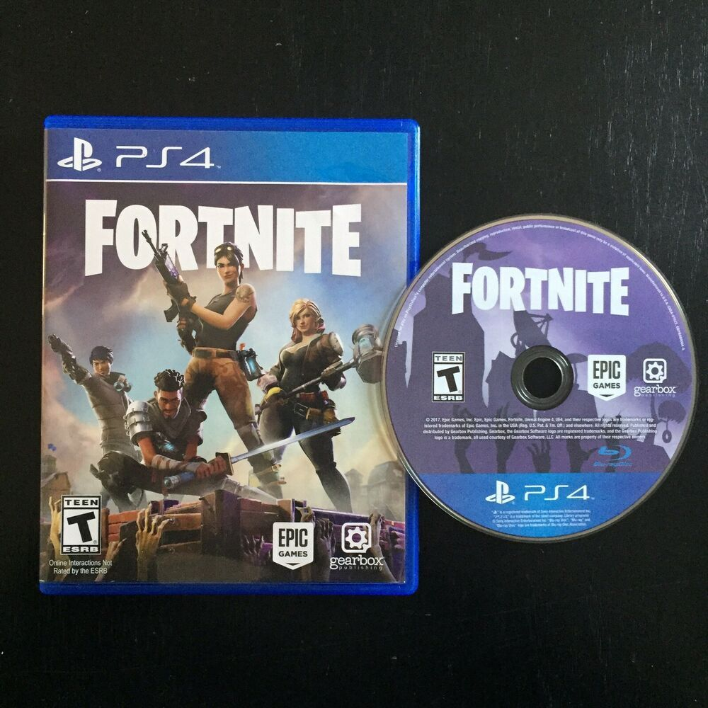 Fortnite Playstation 4 Ps4 2017 Us Release Physical