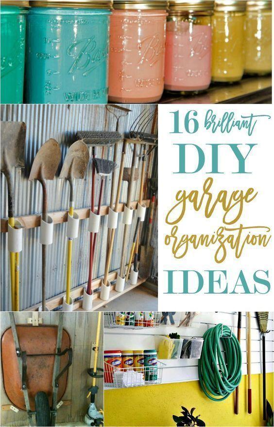 Diy Garage Organization Ideas Part - 47: DIY Garage Organization Ideas