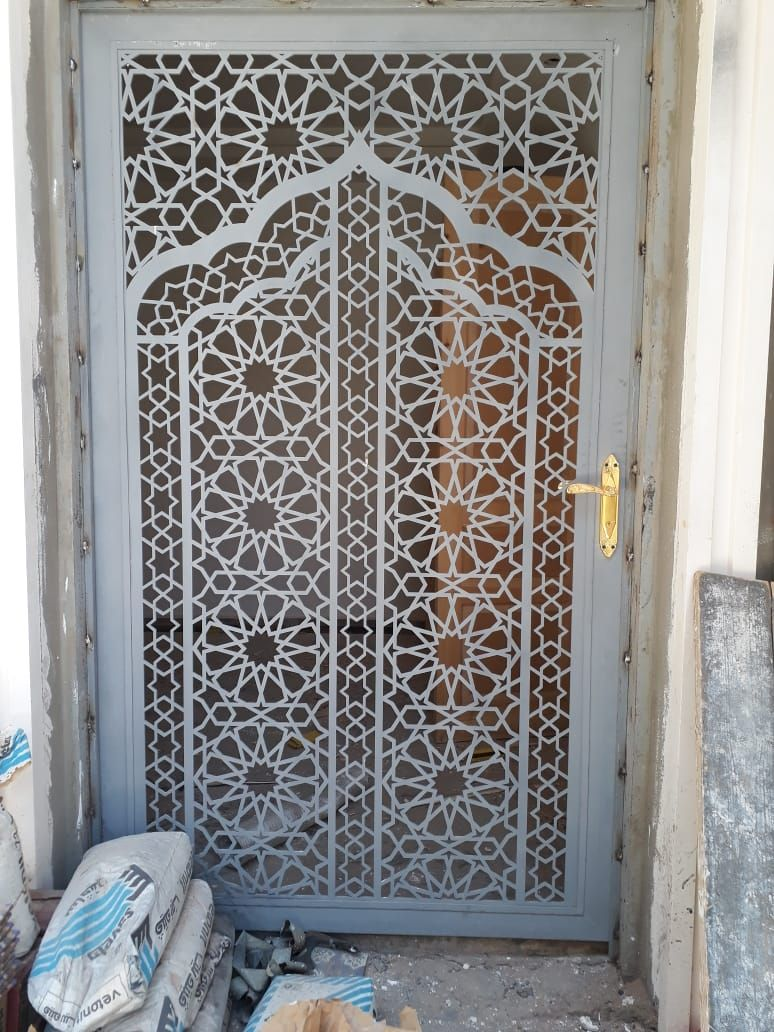 Saudiarabia Riyadh Doors Gates Design Cnc Lifestyle Modern Cadd Beautiful Metaldoor Lasercut ابواب Door Design Door Gate Design Door Design Modern