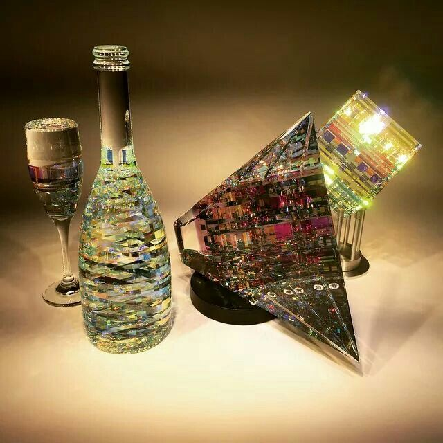 Jack Storms Work With Cold Glass Sculpture Glass Sculpture Jack Storms Glass Art
