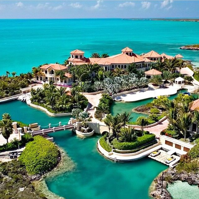 The Perfect Island Mansion In Turks And Caicos