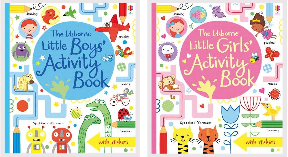 Little children's Activity books - Erica Harrison