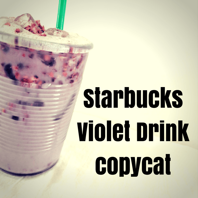 Starbucks Violet Drink Copycat Recipe Drinks Starbucks Pink