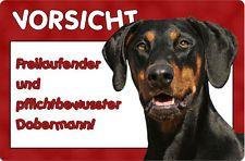 Dobermann A4 Metall Warnschild Schild Hundeschild Alu Turschild Dbm 17 T6 Hunde Schilder Turschilder