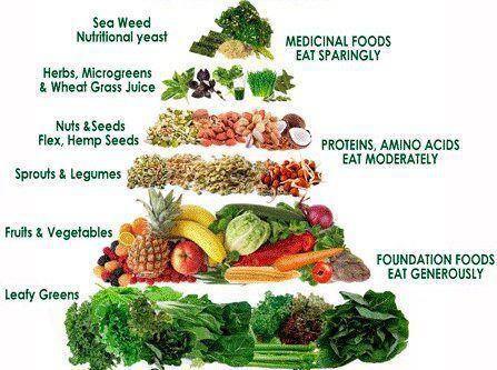 Pin By Sat Nam Yoga Chicago On Kundalini Yogic Lifestyle Vegan Food Pyramid Raw Food Challenge Raw Vegan Recipes