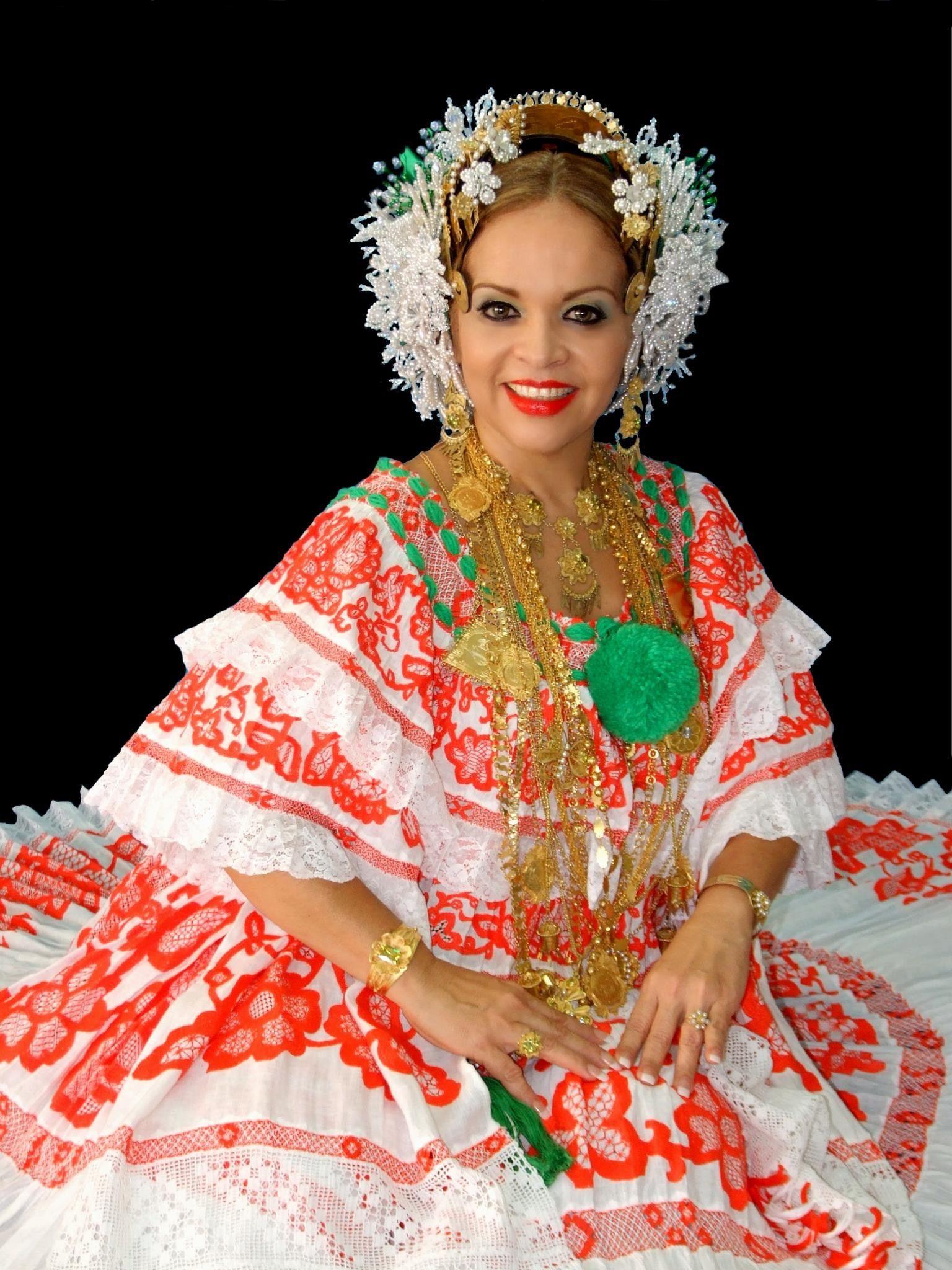 Bella dama, bella pollera! Panamá | Panama Culture ...