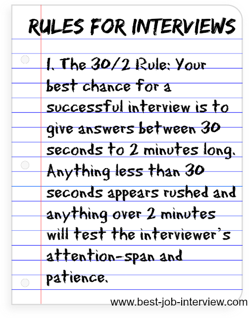 rules for answering interview questions - Nursing Interview Questions And Answers