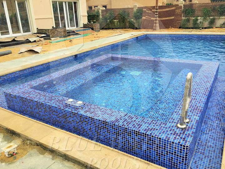 Skimmer Swimming Pool Dimensions 5m 11m Deeps 1m 1 60m Jacuzzi 3m 3m Spanish Mix Mosaic Pool Swimming Pool Dimensions Swimming Pools