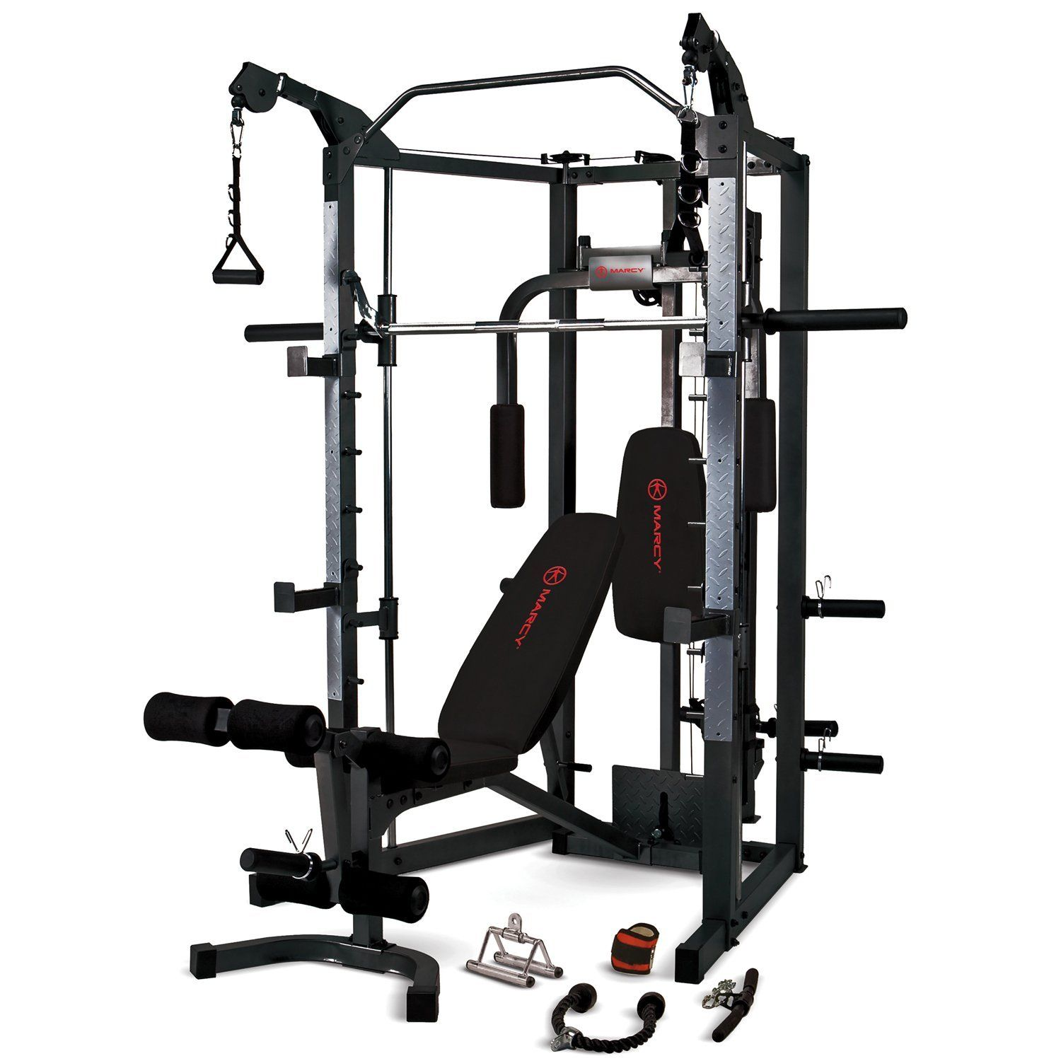 The ☛☛ Marcy Eclipse RS7000 Deluxe Smith Machine Gym Review ...