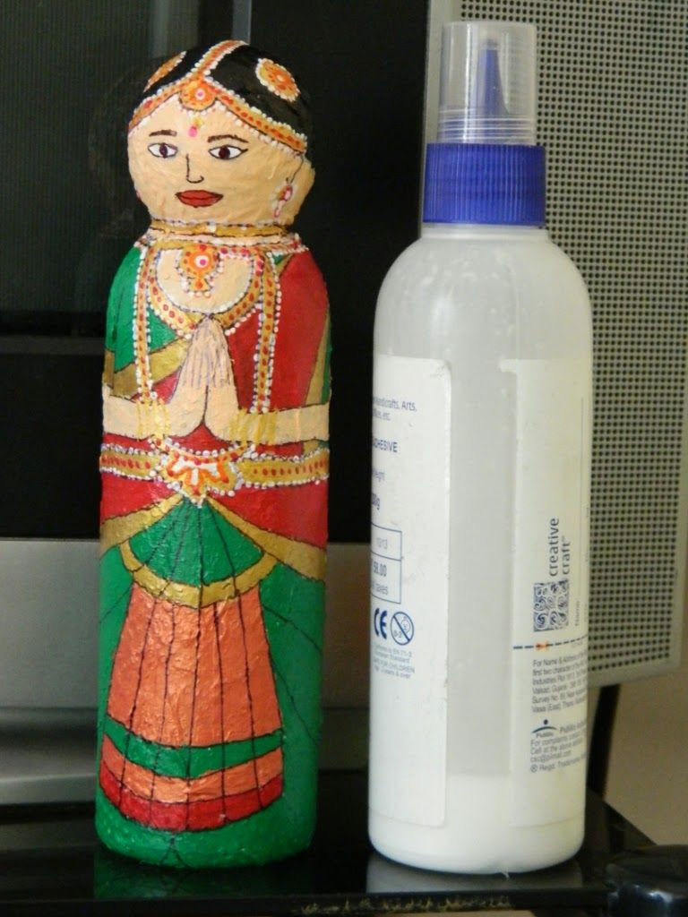 Plastic Bottle Doll More