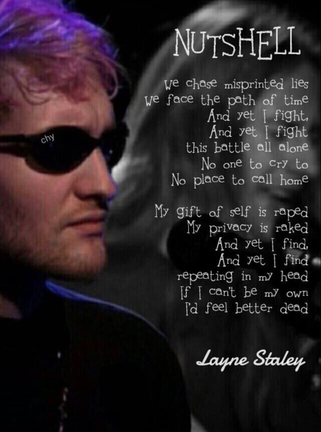Pin By Kelly Kromer On Alice In 2019 Layne Staley Jerry Cantrell