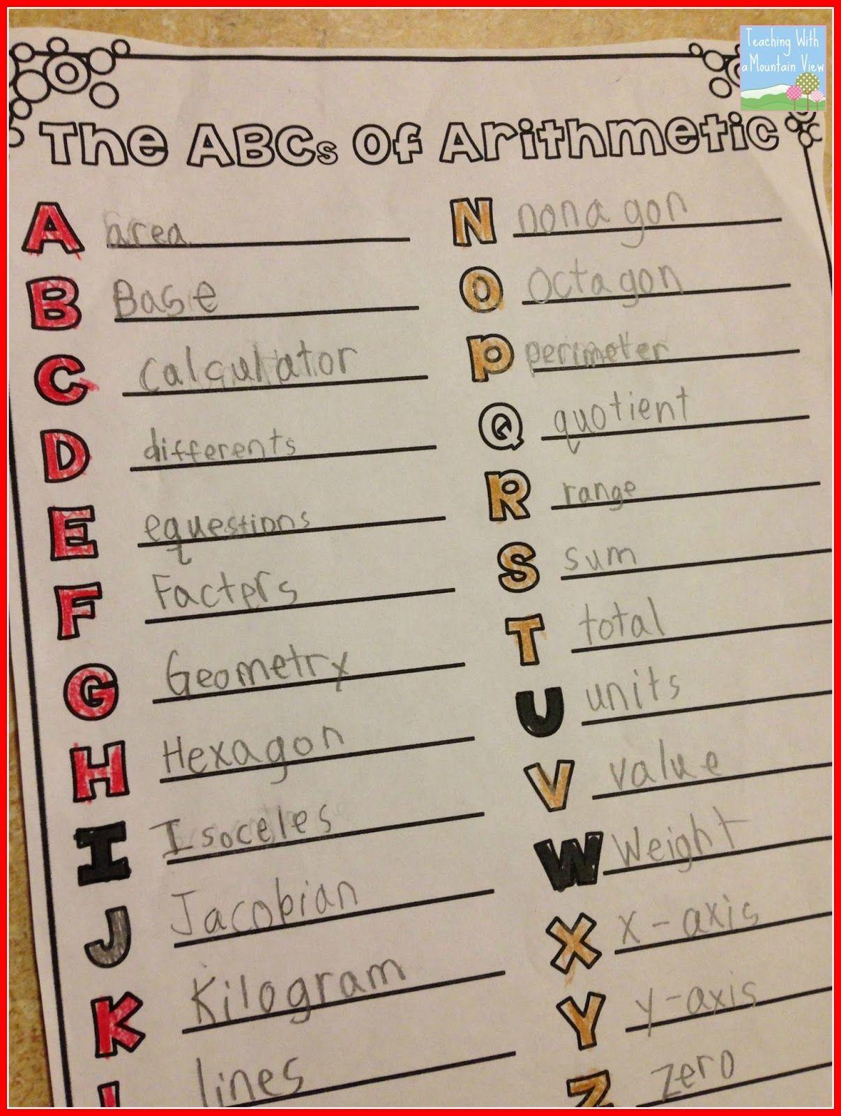 Back to School Math! | Beginning of school year activities
