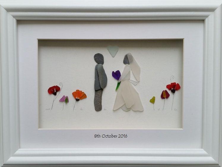 cb11caefdc Pin by Diane Cingel on Pebble art | Sea glass art, Sea glass wedding ...