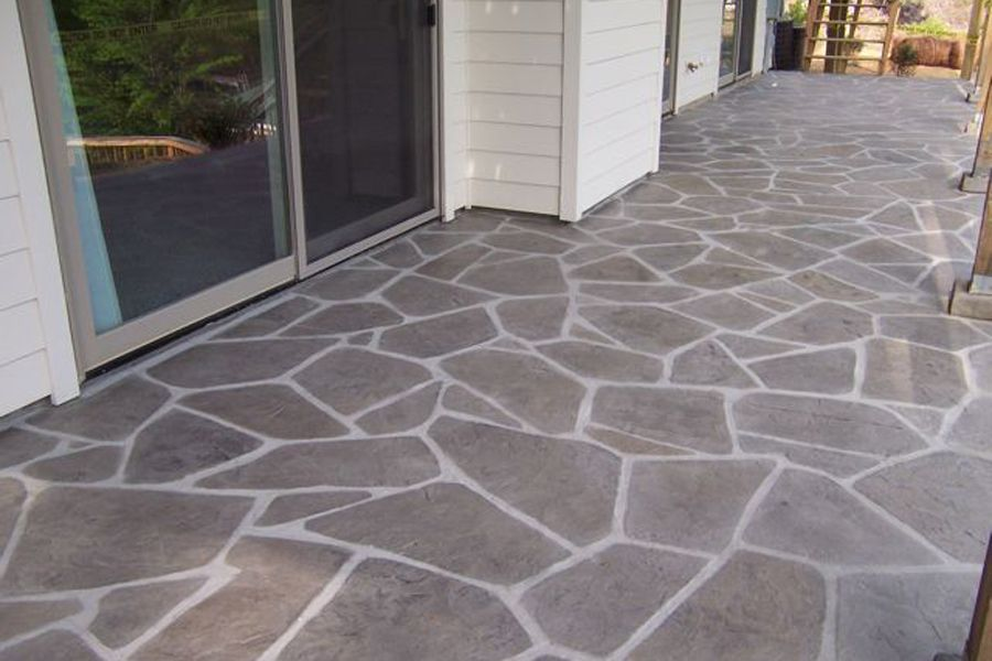 Concrete Looks Like Flagstone