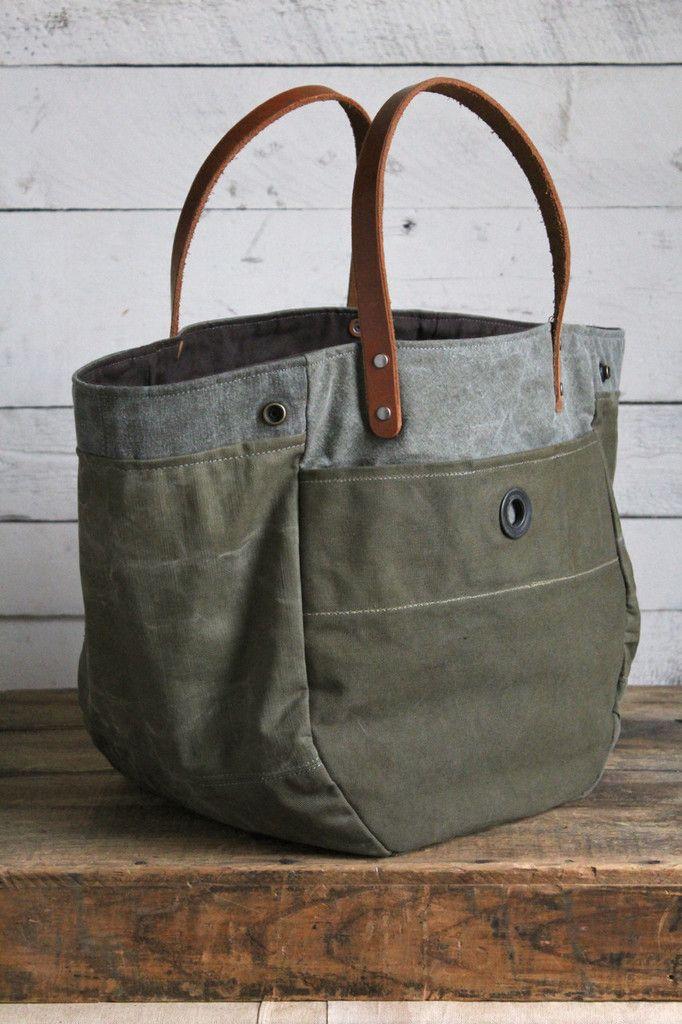 1eb8396c7c23 WWII era Convertible Canvas Tote Bag