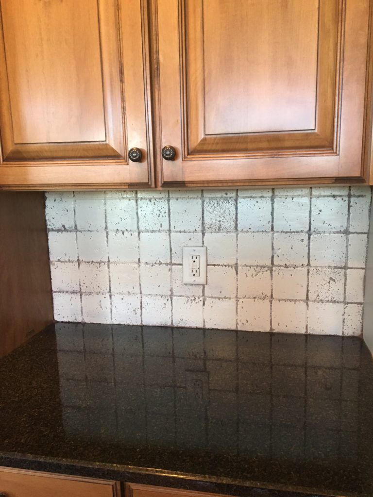 backsplash in your kitchen can be painted in one day farmhouse rh pinterest com