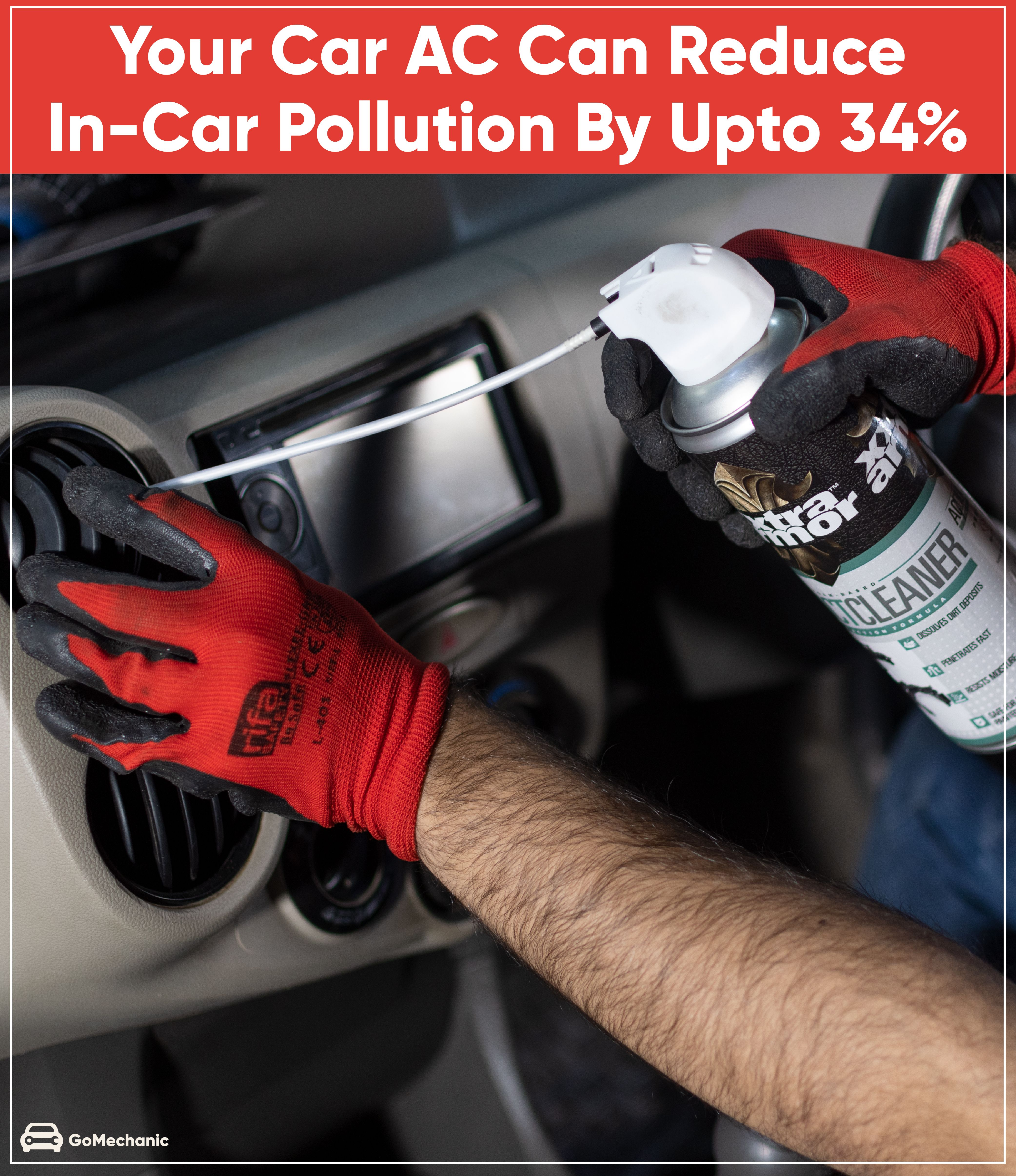 Your Car AC Can Reduce incar Air Pollution By 34. Here's