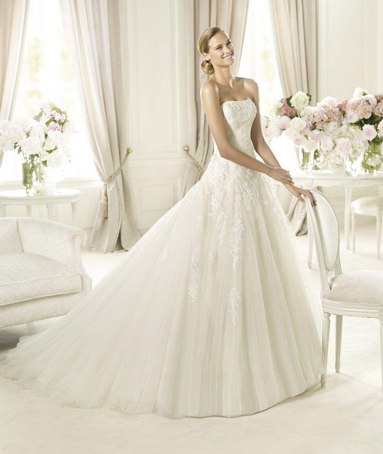 Pronovias St Patrick Barocco Halivert Second Hand Wedding Dress On