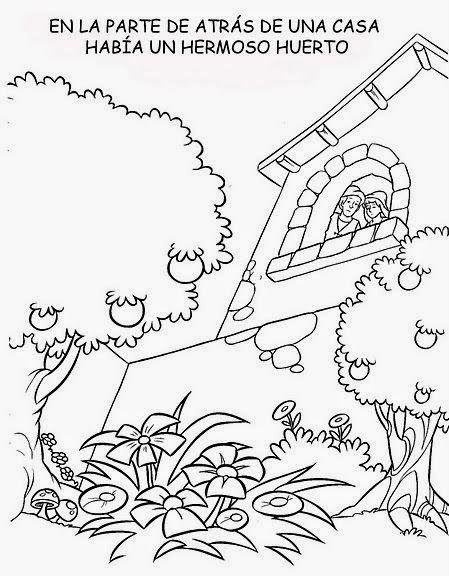 Cuentos Infantiles Rapunzel Cuento En Imagenes Para Colorear Rapunzel Cuento Cuentos Rapunzel