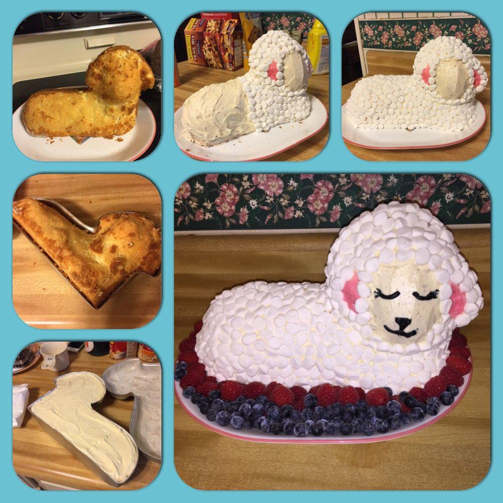 Easter lamb cake wilton cake mold lamb cake easter lamb