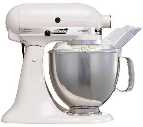 KitchenAid Küchenmaschine Artisan weiß, 452,29 Euro auf Amazonde - studio profi küchenmaschine