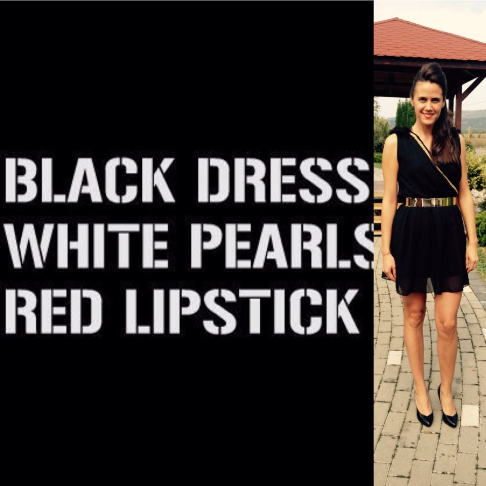 Black Red Classy Quotes Black Dress Style Fashion Quotes