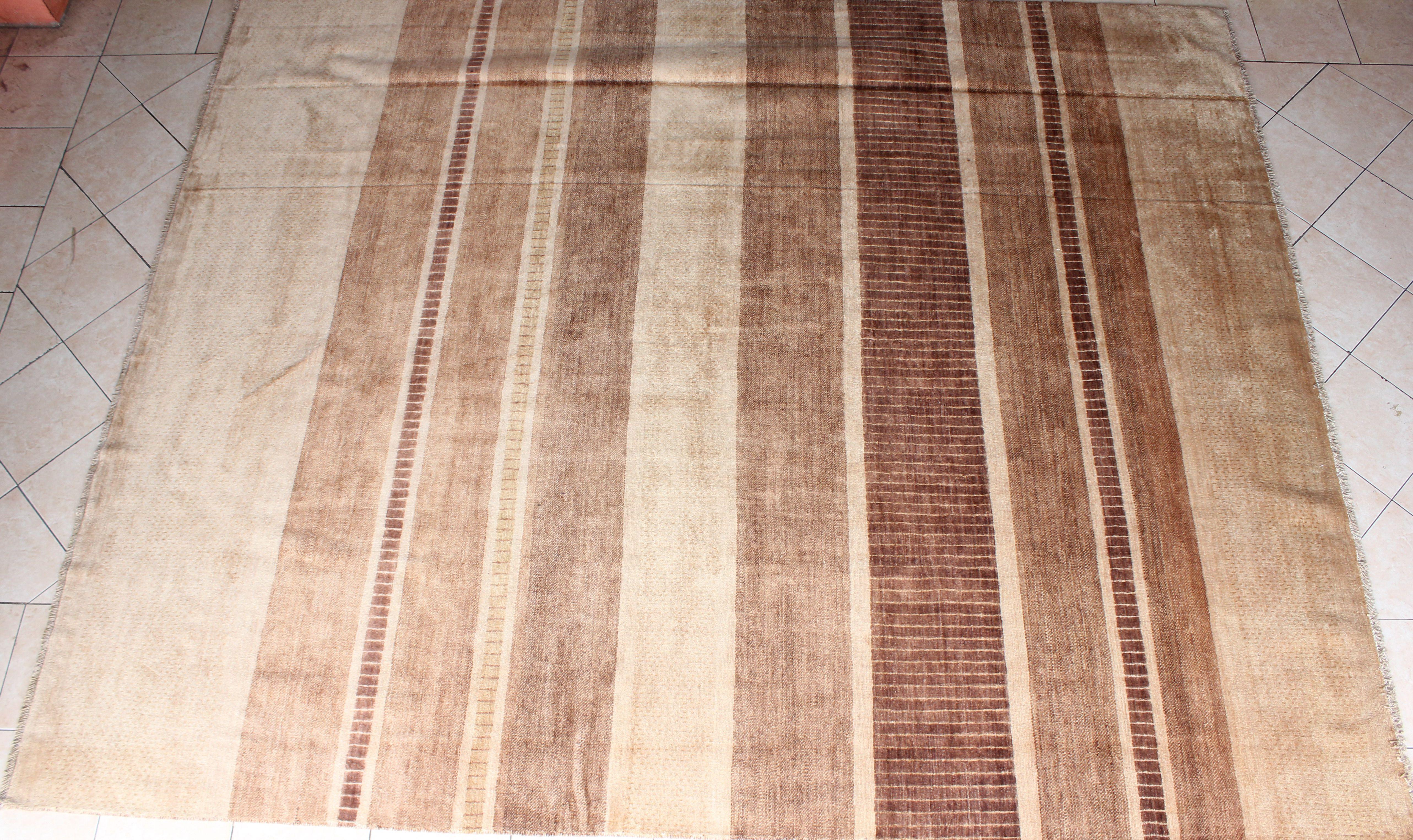 Pakistan Hand Woven Carpet Ch 365 8 X 10 Ft Chobi Wool On Cotton
