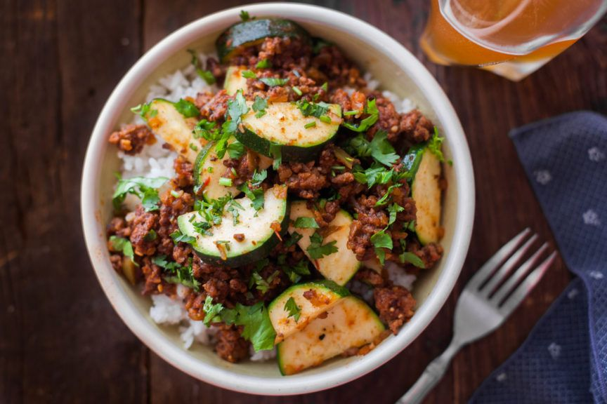 Photo of Zucchini Beef Skillet Recipe – Eating Richly