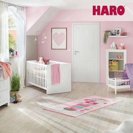 une belle chambre pour b b avec un sol vinyle design sain 100 sans pvc ni plastifiant. Black Bedroom Furniture Sets. Home Design Ideas