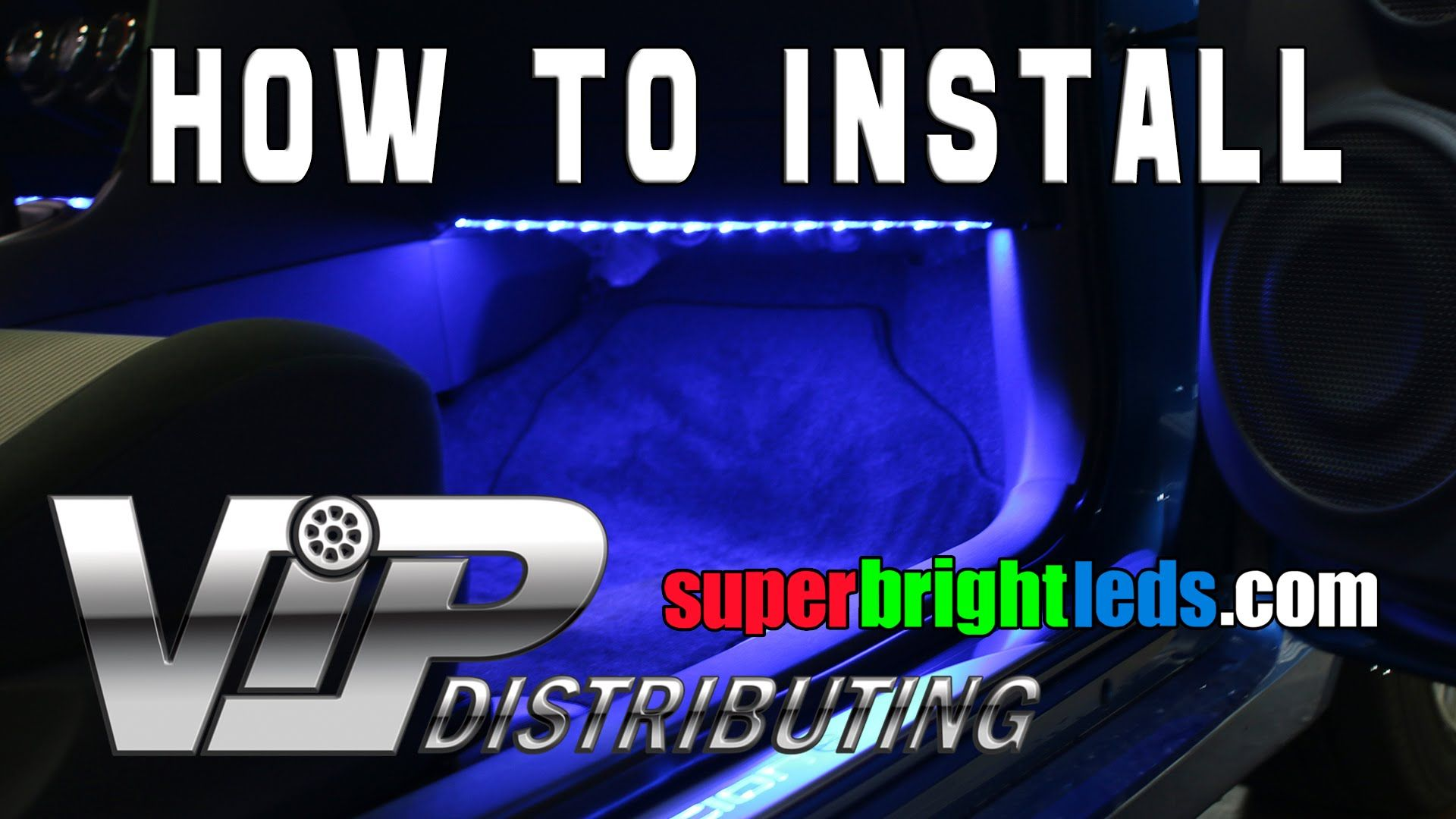 How to install LED light strip under dash to illuminate floor. Scion ...