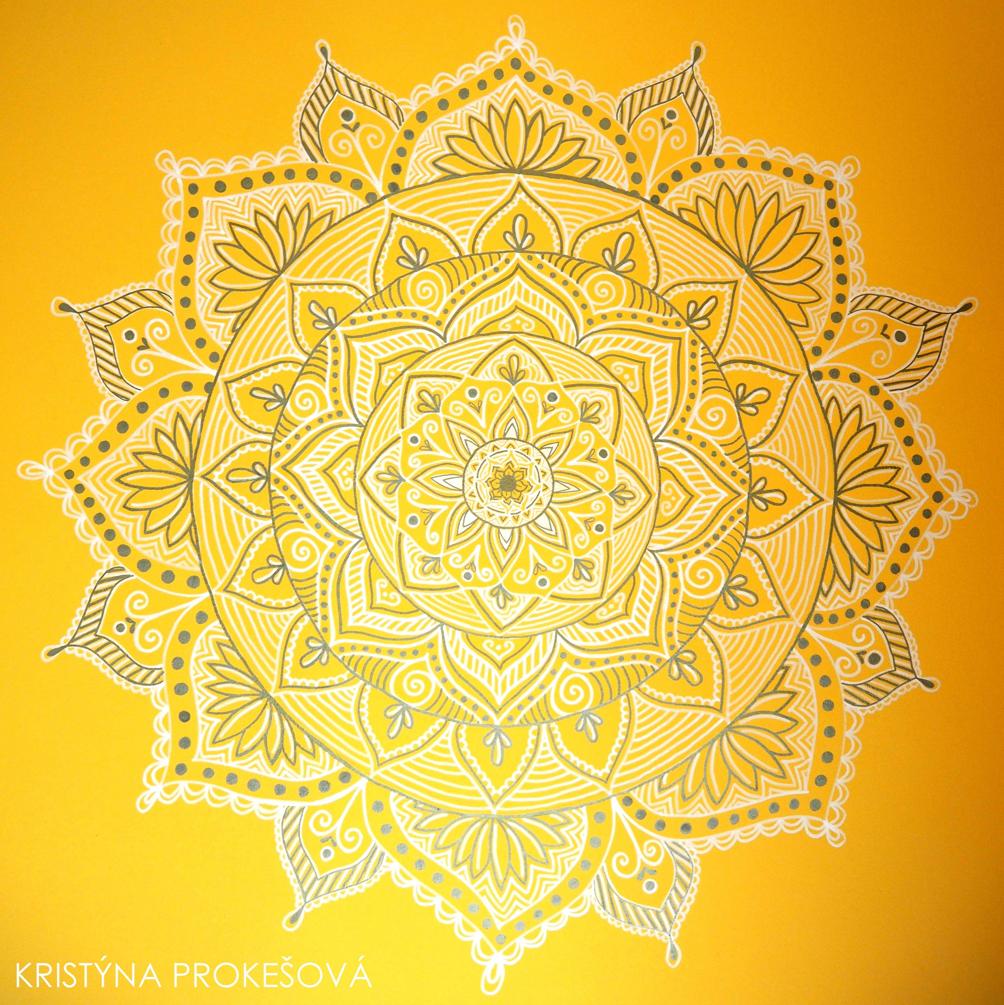 Mandala Wall Art by Kristýna Prokešová | Art | Pinterest | Mandala